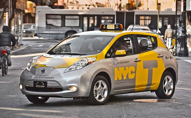 Такси-Нью-Йорка-тестируют-электромобили-Elmob