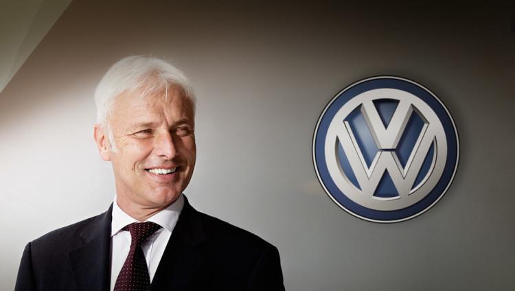 Маттиас Мюллер-Руководить концерном Volkswagen