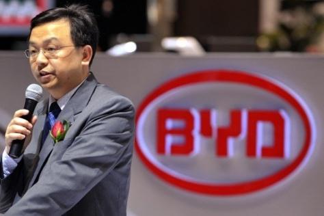 Основателем и председателем BYD Wang Chuanfu