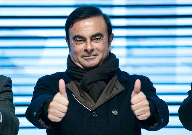 Генеральный директор Renault-Nissan Карлос Гон