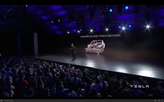 Элон Маск представляет Tesla Model 3