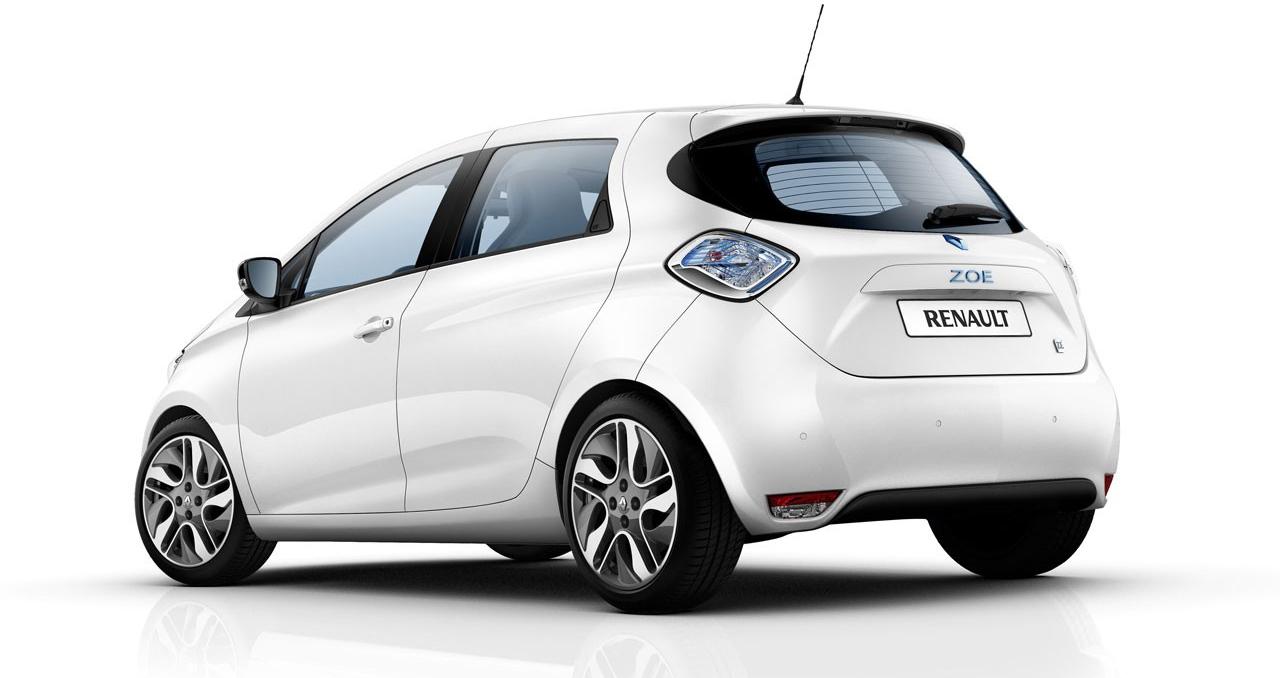 Renault ZOE — самый мощный электрокар в классе супермини