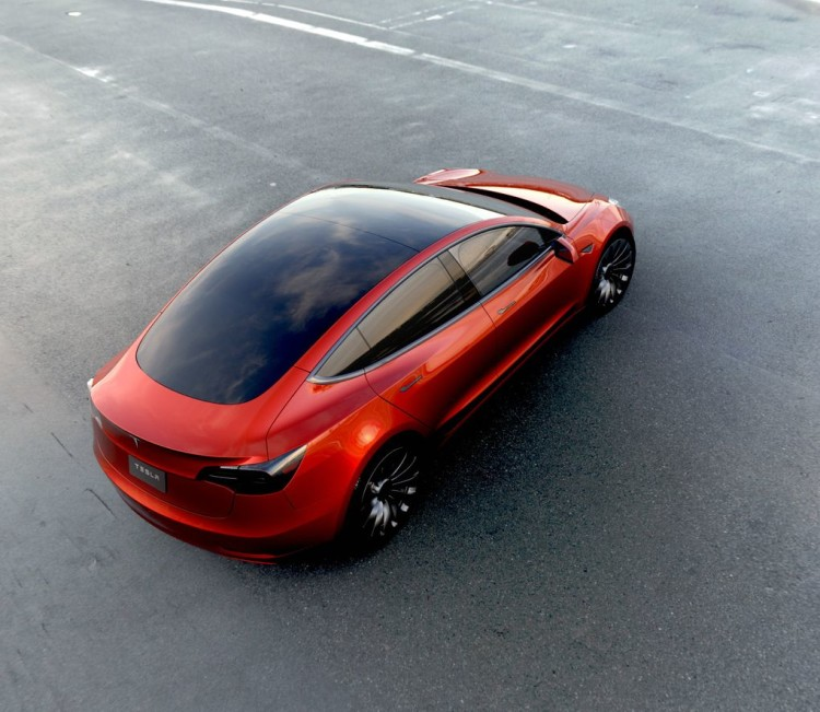 Крыша Tesla Мodel 3