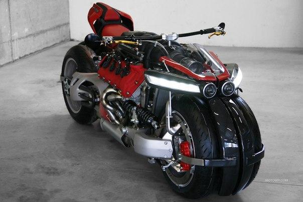 Электромотоцикл Lazareth LM 847 фото