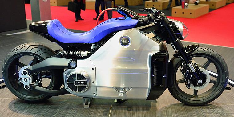 Электромотоцикл Voxan Wattman фото