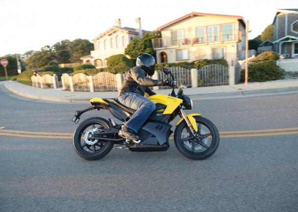 Элмоб электромотоцикл Zero S фото