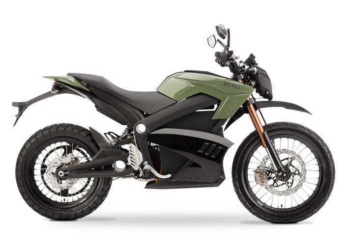 Элмоб фото электромотоцикл Zero SD