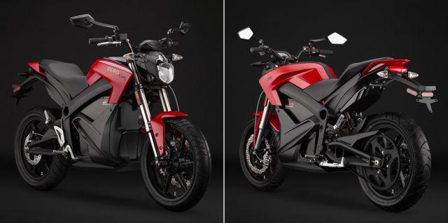 Фото электромотоцикл Zero SR элмоб