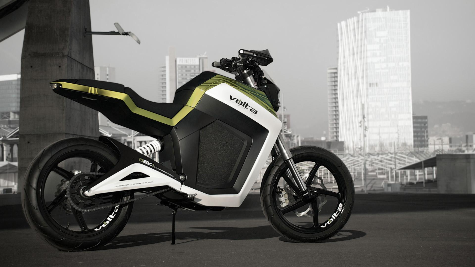 Электромотоцикл Volta BCN 2012 элмоб