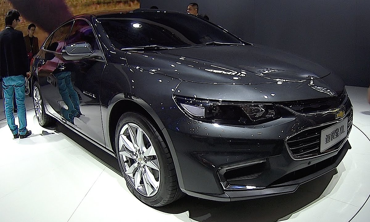 General Motors Сhevrolet Malibu XL гибридный автомобиль