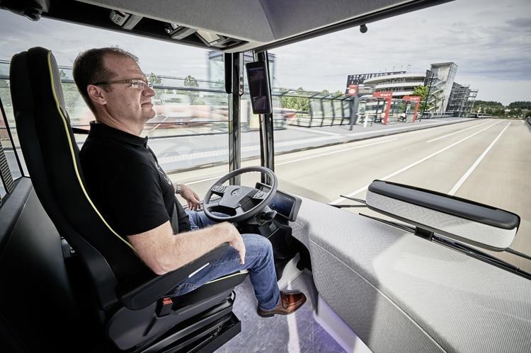 Daimler mersedes автобус салон
