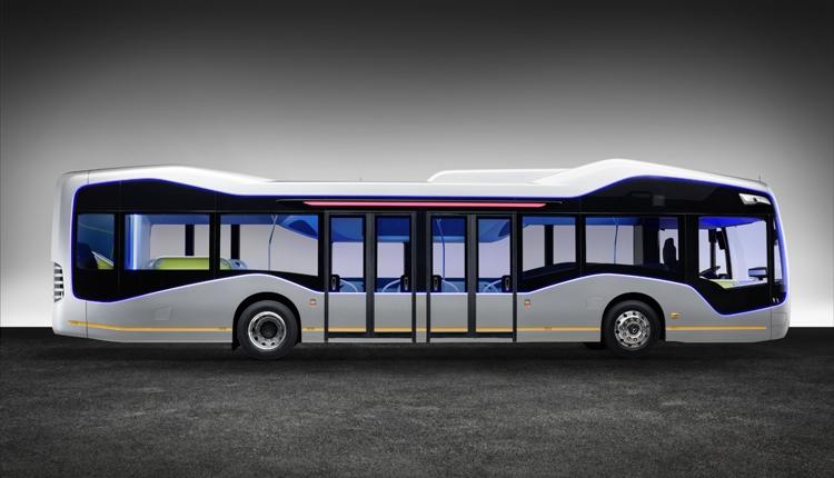 фото Daimler mersedes автобус