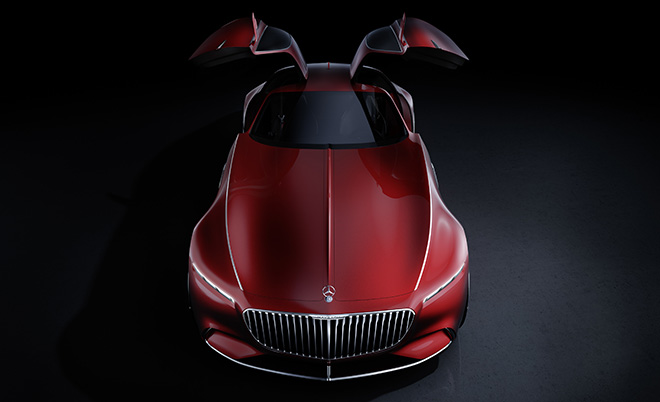 электромобиль Vision Mercedes Maybach 6