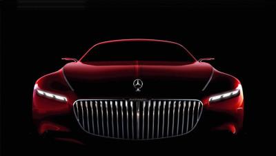 Vision Mercedes официальный сайт Maybach 6