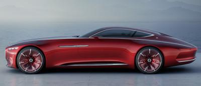 Vision Mercedes официальный Maybach 6