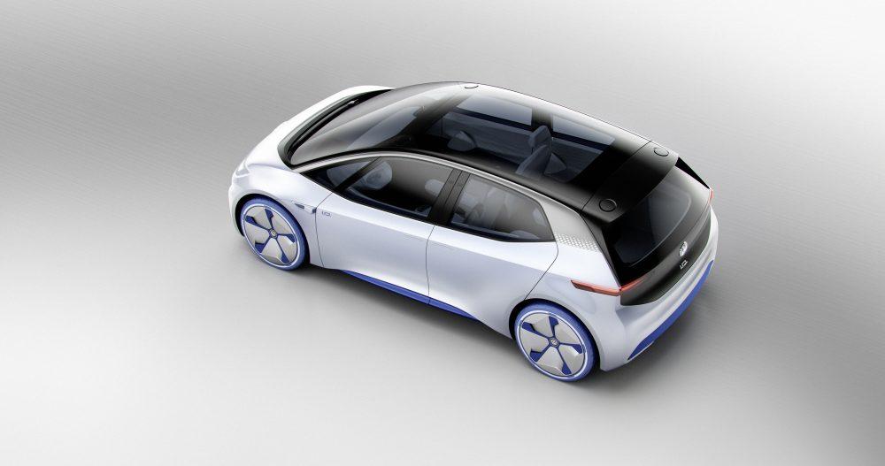 фото электромобиля Volkswagen