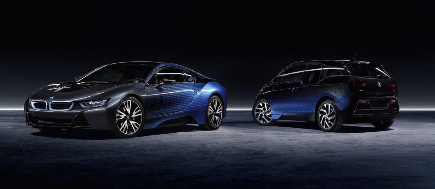 фото BMW i3 и i8