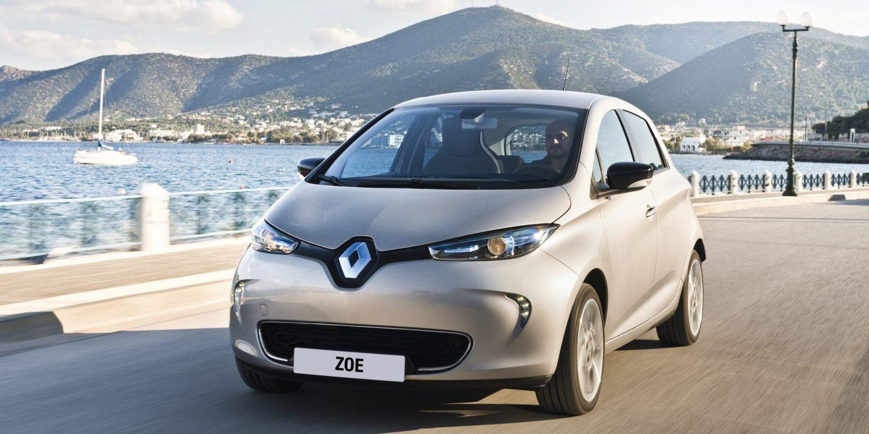 фото Renault Zoe 2017