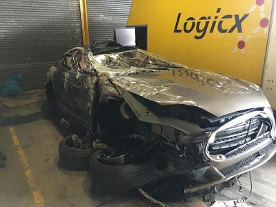 Тесла Модель С электромобиль бу