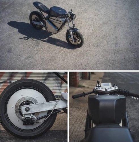 кастомный электрический мотоцикл Phaser Type 1