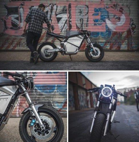 кастомный электромотоцикл Phaser Type 1