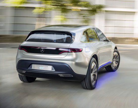 Mercedes бренд 'EQ'