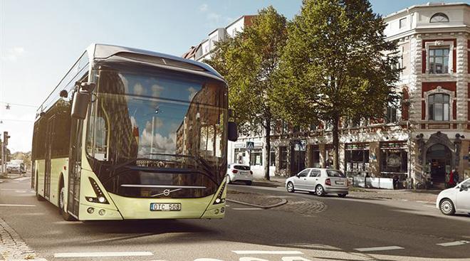 электро автобусы Volvo в Люксембурге