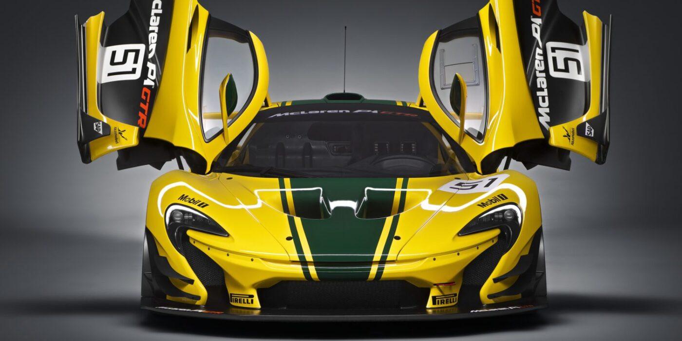 фото электромобиля компания McLaren