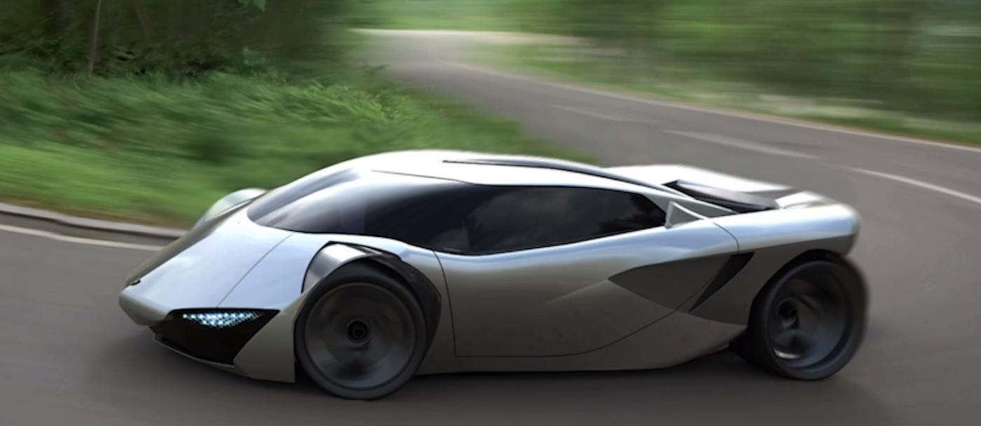 фото электрокара Vitola компания Lamborghini