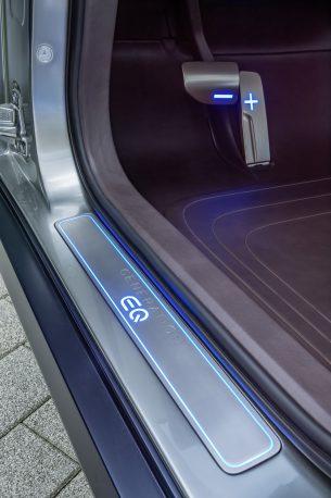 фото электромобиля Mercedes EQ