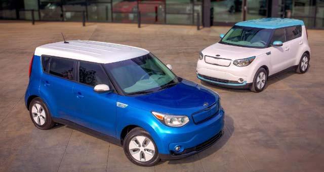 продажа электромобилей Kia Soul EV