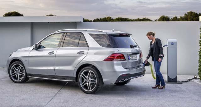 продажа электромобилей Mercedes-Benz 550E GLE