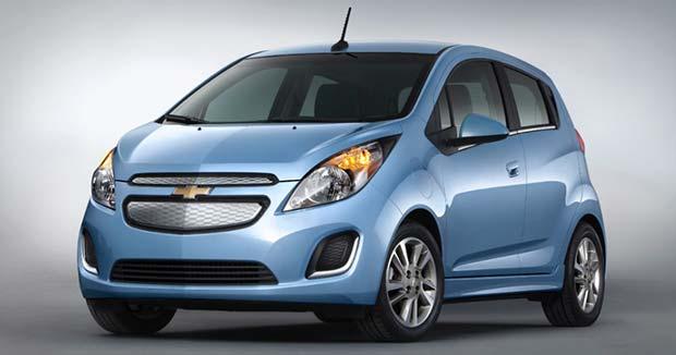 продажа электромобилей Chevrolet Spark EV