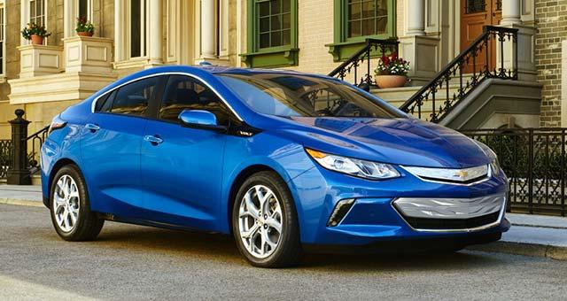продажи электромобилей Chevrolet Volt