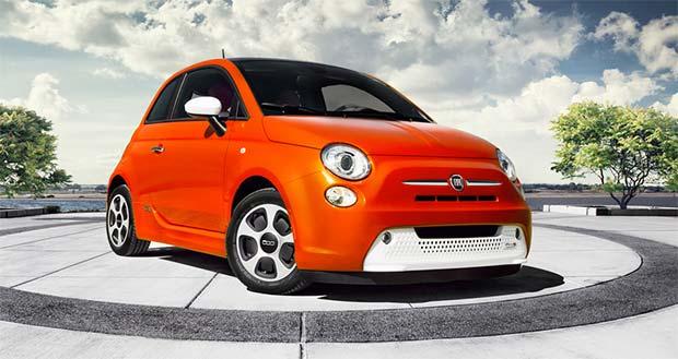 продажа электромобилей Fiat 500e