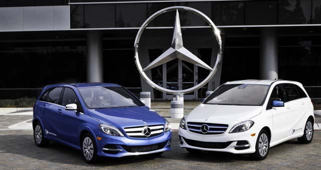 продажа электромобилей Mercedes-Benz B-Class