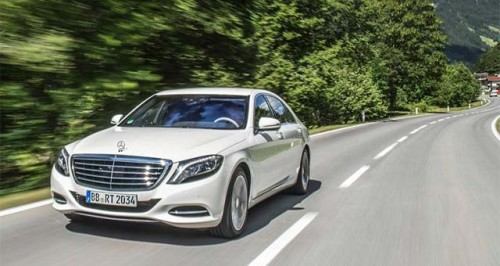 продажа электромобилей Гибридный Mercedes-Benz S550