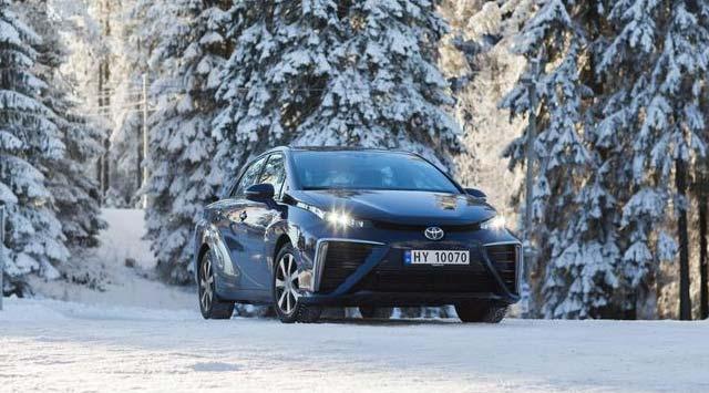 продажа электромобилей Toyota Mirai