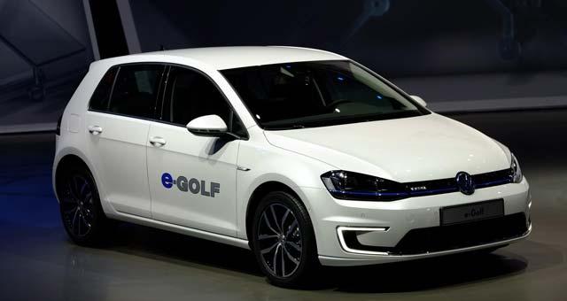 продажа электромобилей Volkswagen е-Golf
