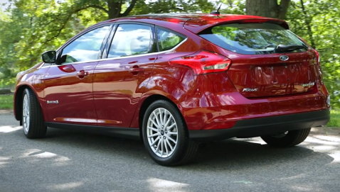 изображение Ford Focus Electric 2017