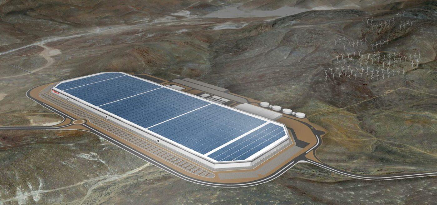 фото Tesla Motors gigafactory-2