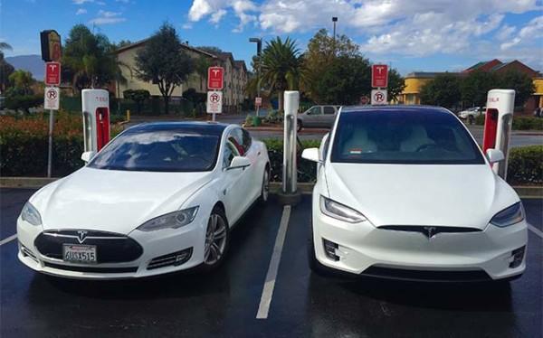 продажи электромобилей model s model x