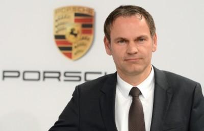 Porsche Mission E Оливер Блюм