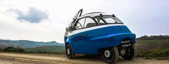 Micro Mobility Systems Microlino электромобили квадрацикл