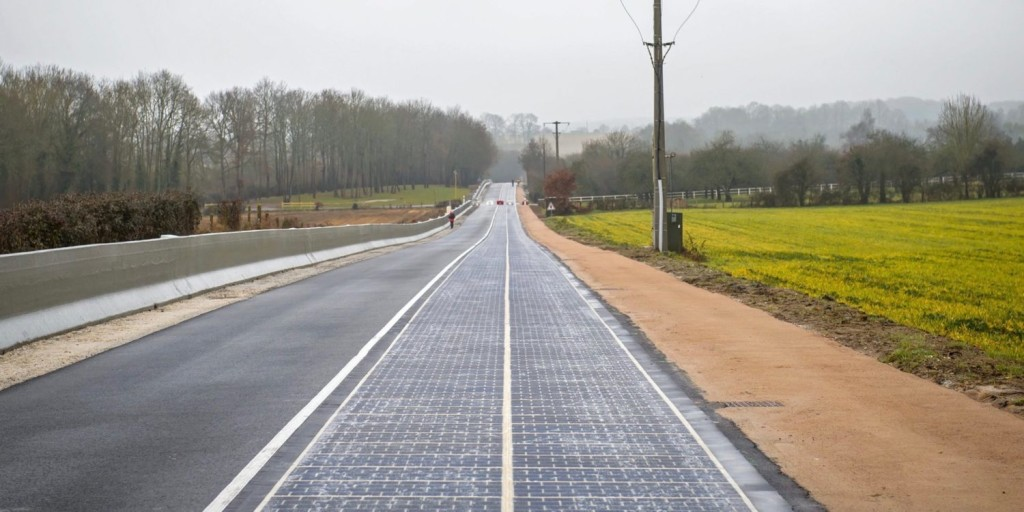 солнечные дороги во Франции