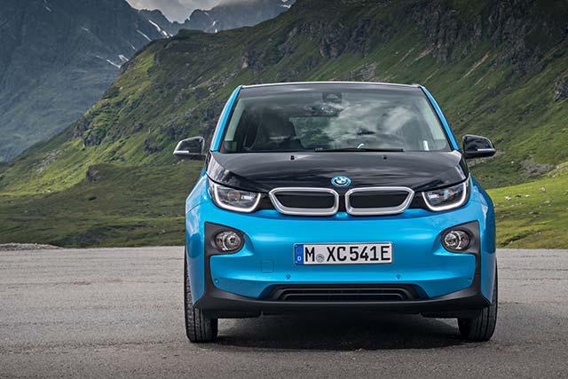 электрический BMW i3