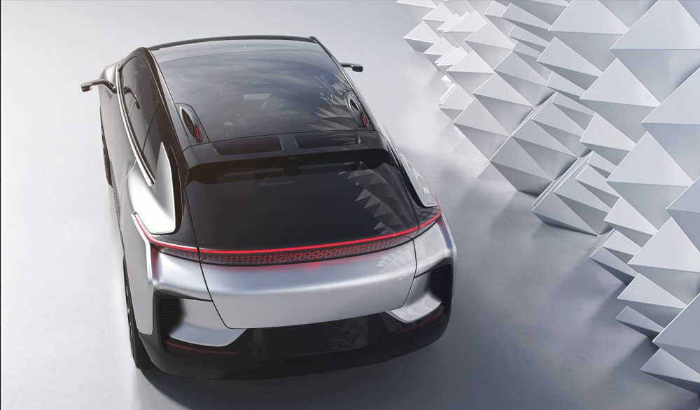 электромобиль Faraday Future FF91 на CES 2017