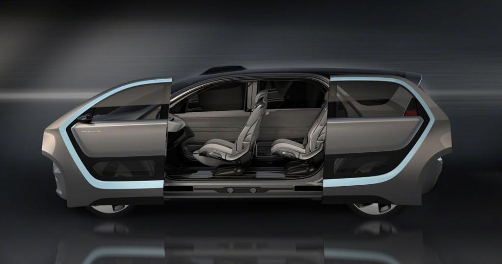 концепт электромобиль Chrysler Portal Concept
