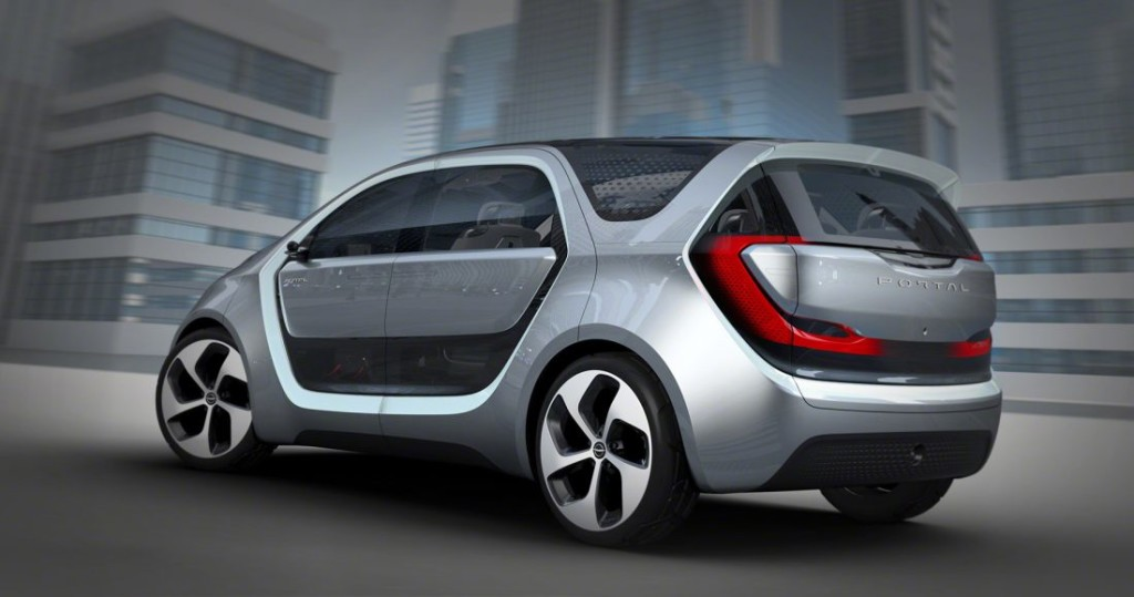 электромобиль Chrysler Portal Concept