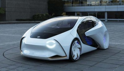 Toyota Concept-i электромобиль